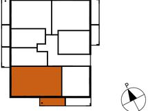 Asunnon B60 sijainti kerroksessa