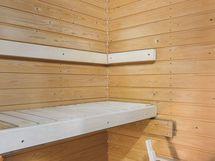 Huoneiston pieni sauna