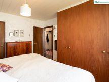 Makuuhuone 1, jossa on wc