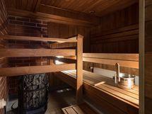 Taloyhtiön alatalon sauna
