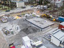 Ilmakuva 12/2020 (rakennustyöt on aloitettu)