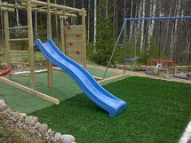 Lasten leikkipaikka, omistajan kuva