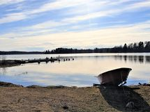 Venevalkama- ja vesioikeus Vesijärvelle yhteisiin vesialueisiin n. 400 m.