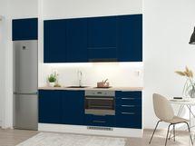 Havainnekuva 32,5m2 yksiön keittiöstä.
