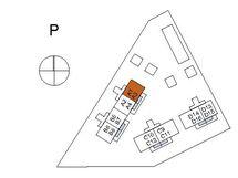 Asunnon A3 sijainti kerroksessa