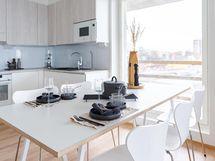 Kuva yhdestä yhtiön asunnosta.