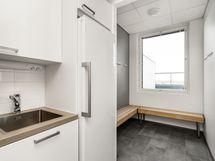 A-talon 8.krs sauna-ja terassitilat: Lataamo