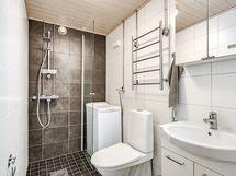 Pesuhuone uusittu yhtiön toimesta