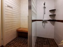 Pukutila ja suihku