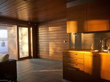 takkahuoneen keittiönurkka