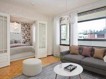 Digistailattu olohuone/makuuhuone