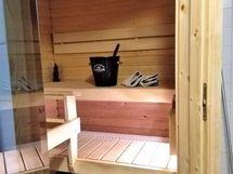 Viihtyisä sauna