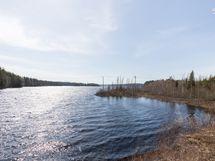 Maisema Petäjävedentien suunnasta kuvattuna
