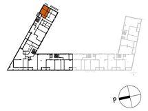 Asunnon C46 sijainti kerroksessa