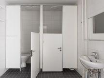 Iso WC-Tila: 2x wc-istuin