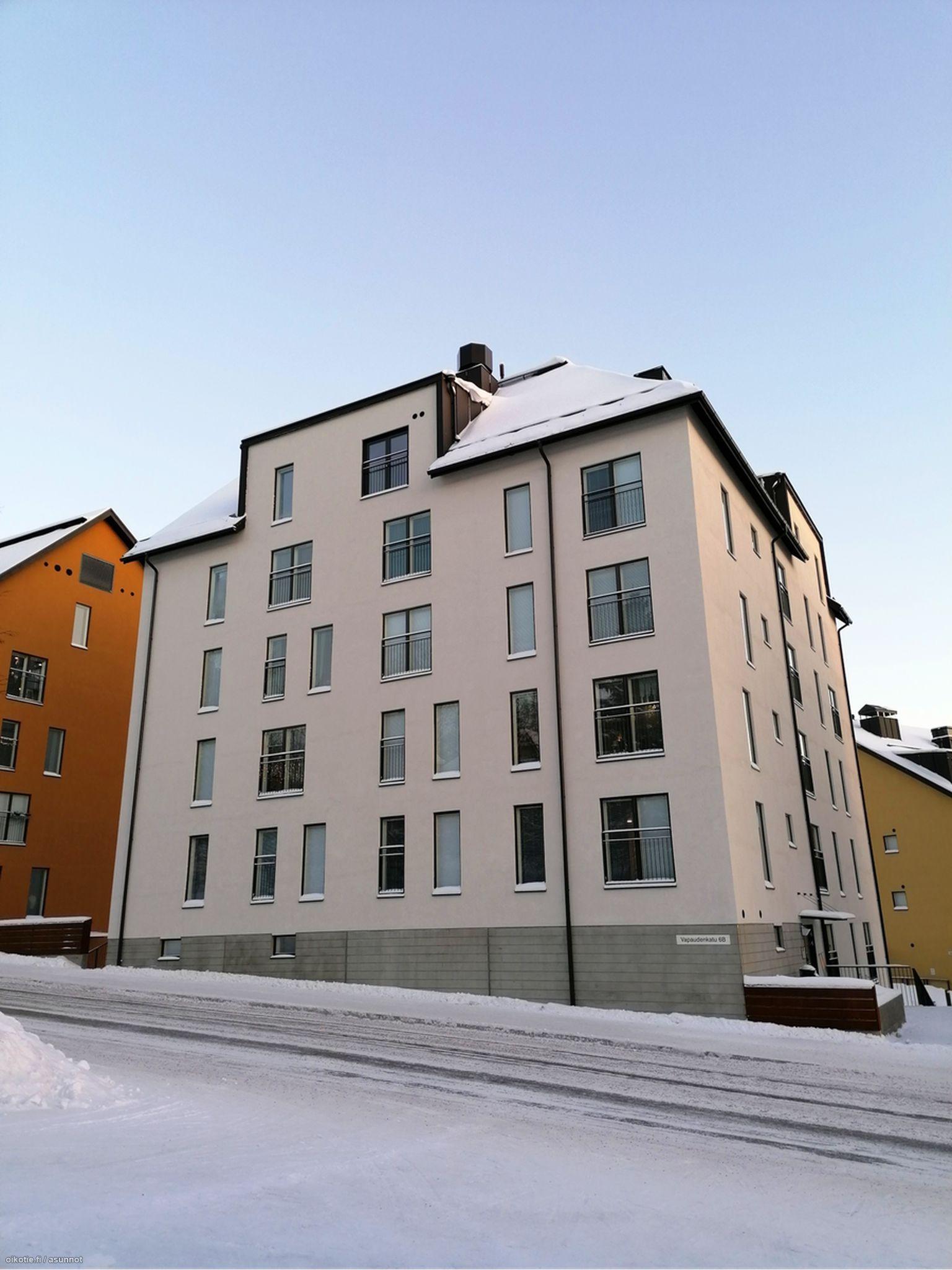 Vapaudenkatu Jyväskylä